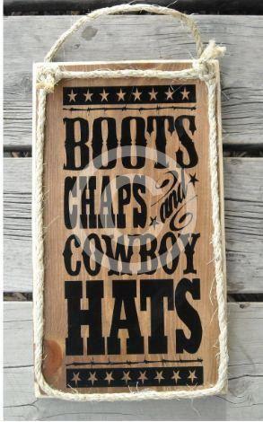 Boots Chaps, Cowboy Hats