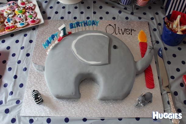 Ollie elephant is very easy to make and decorate.
