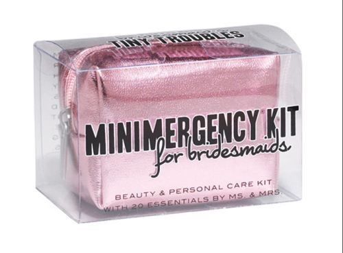 Party Favor: Bridesmaid Emergency Kit [SOURCE]