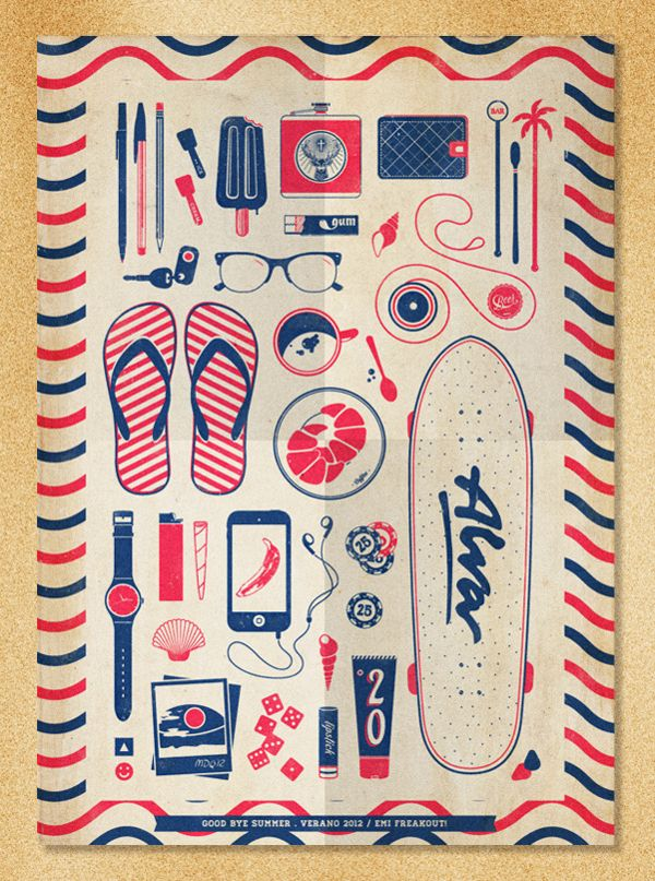 Good Bye Summer Poster by Emiliano Aranguren
