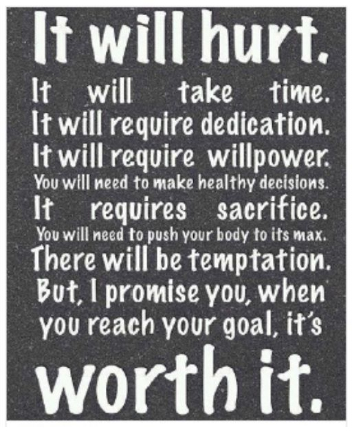 Lets do this...time to step it up...dedication and hard work is the key to success....