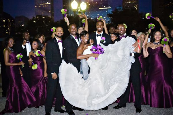 Need A Wedding Planner Weddings2plan African American Wedding Party Purple