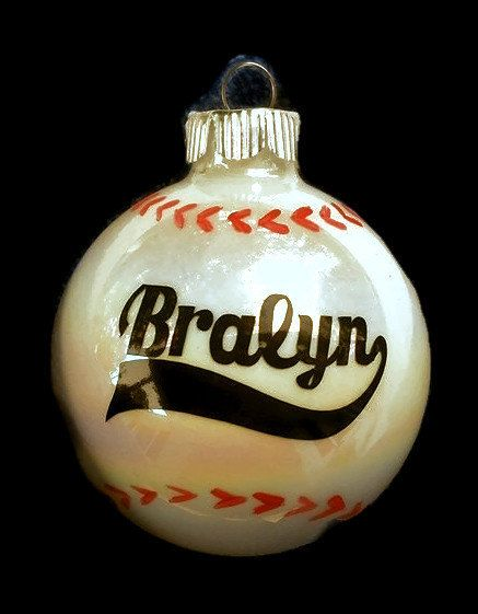 The 25+ best Baseball christmas ornaments ideas on Pinterest ...