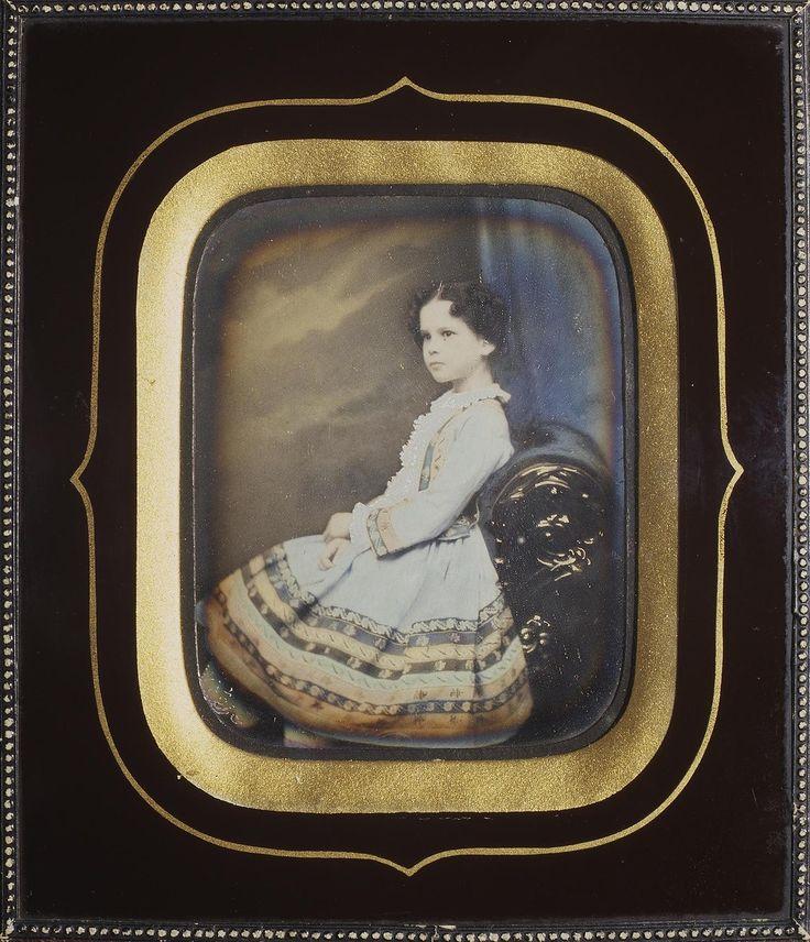 Портрет девочки. 1840-е