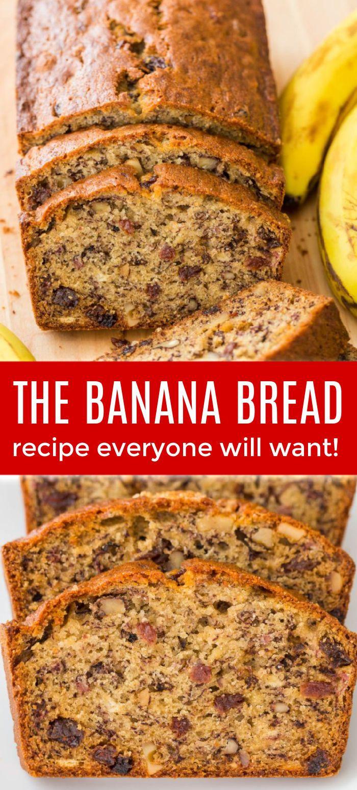 Banana Bread Recipe Super Moist Banana Bread Banana Nut Bread Recipe Banana Bread Recipe Moist