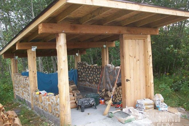 When the Barchackys of Green Bay, Wisconsin, wanted to build a cordwood garden shed using mostly repurposed material, they called on Richard for advice. Description from realworldsurvivor.com. I searched for this on bing.com/images