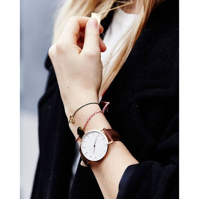 Rosefield - The Bowery - white, brown, rose gold