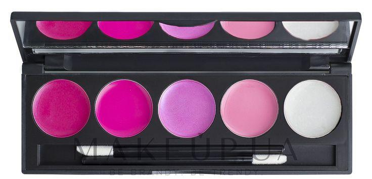 224 грн Купить Компактная палитра помад и блесков на 5 оттенков - Make Up Me на makeup.com.ua — фото №1