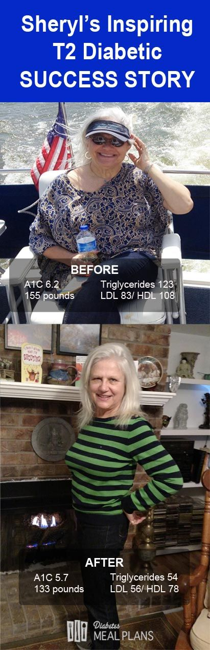 Sheryl's Inspiring Low Carb Diabetic Diet Success Story - You MUST Read This!