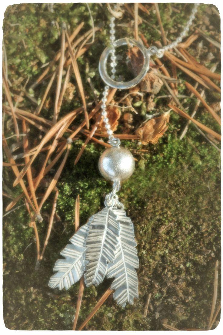 Carried through Life - silver necklace Handmade by Tytti Bräysy, Paarma design https://www.facebook.com/Metalmorfosia