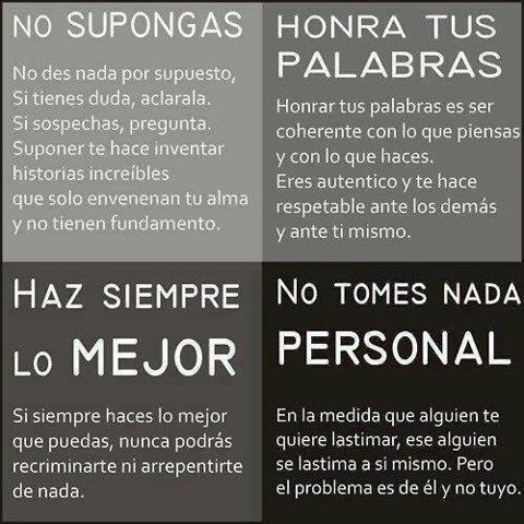 Los cuatro acuerdos de Don Miguel Ruiz