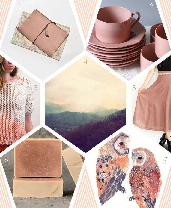 sherbert mood board