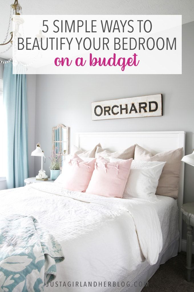 Budget Bedroom Ideas To Beautify Your Space Affordable Bedroom Decor Affordable Bedroom Budget Bedroom