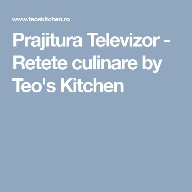 Prajitura Televizor - Retete culinare by Teo's Kitchen