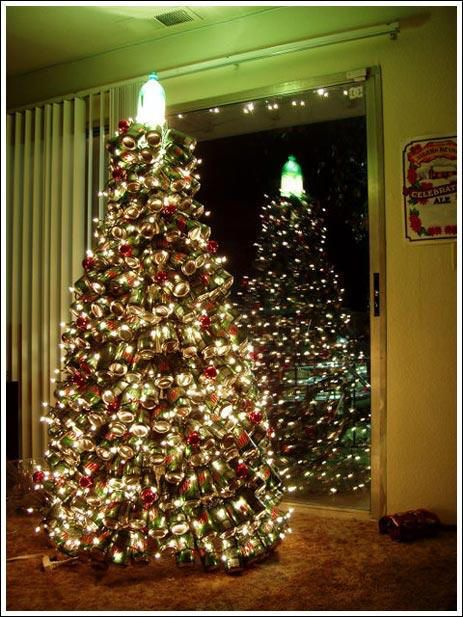 How to Make a Mountain Dew Soda Can Christmas Tree: The Ultimate Artificial Christmas Tree: Dew Christmas, Xmas Trees, Diy'S Christmas Trees, Man Cave, Christmas Decoration, Mountain Dew, Mountaindew, Christmas Trees Idea, Christmas Trees Decoration