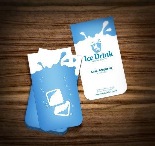 Business Card Design: muriloVM - Ice Drink - Business Card