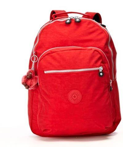 KIPLING   Red Seoul Backpack
