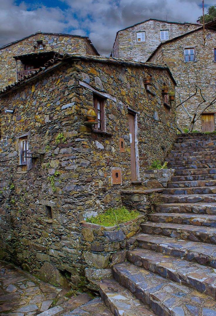 Mountain Lousã, Candal historical xist village. Portugal #PORTUGALmilenar By Nuno Valente