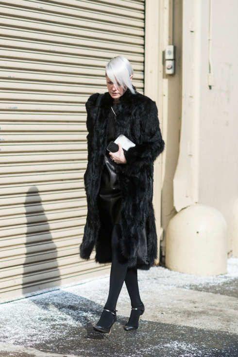 NEW YORK FASHION WEEK NYFW Street Style FW15 | DAY 8