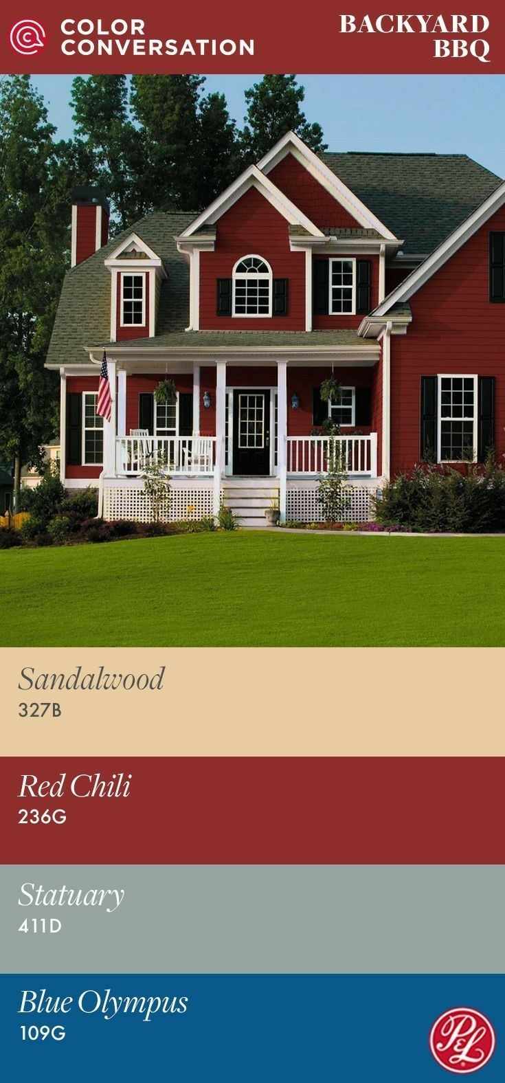 14 best house exteriors images on pinterest red houses Pratt and lambert red seal exterior