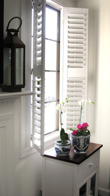 38 best images about full height shutters on pinterest plantation shutter in kitchen and jobs in for Decorative interior wall shutters