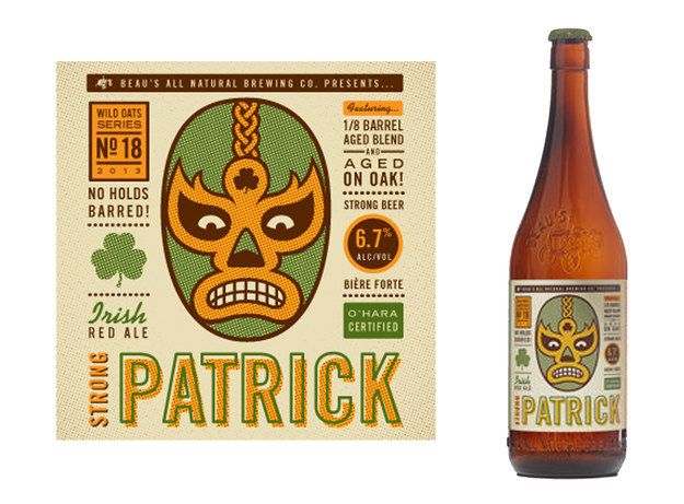 Beau's Strong Patrick Irish Red Ale   30 Beers For The Design Lover In You