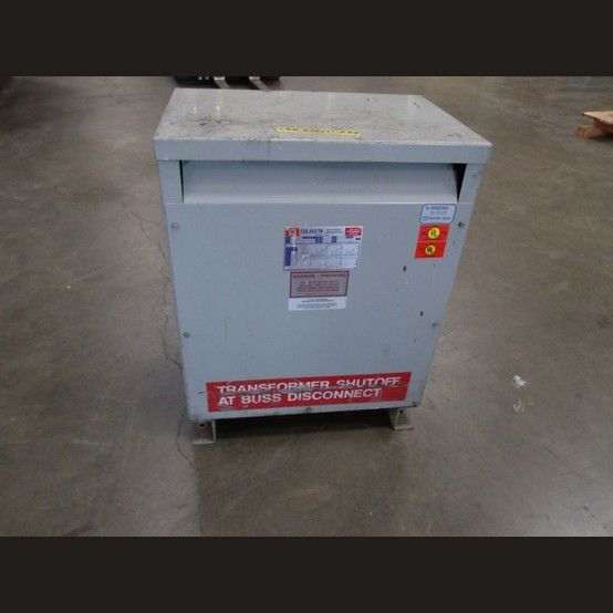 CAT: 22042-AS-74302. Phase: 3. HV: 480. LV: 230Y/133. 290 lbs.  View more 25 kVA Transformers