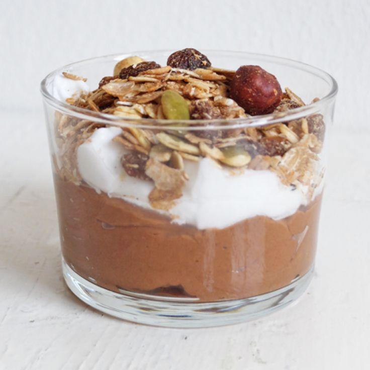 Vegan chocolade kokos mousse – door de wereld van Fien | Abbot Kinney's