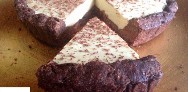 torta fredda al caffè senza burro, il dolce cremoso ed estivo di dolci senza burro