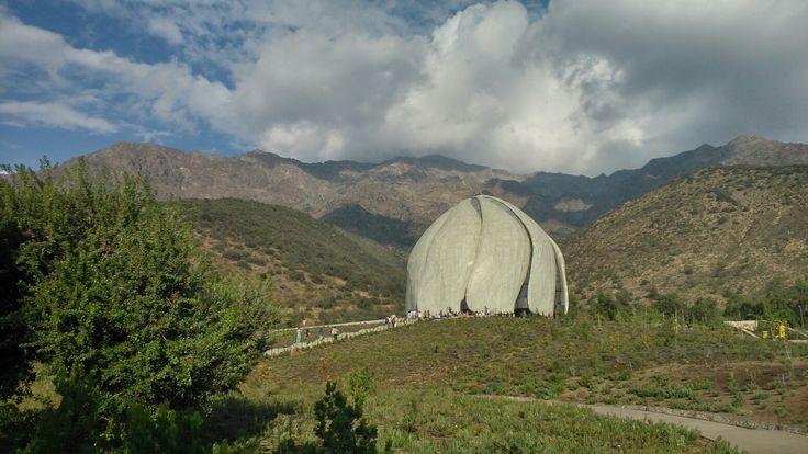 Templo Bahai sudamericano; Santiago de Chile