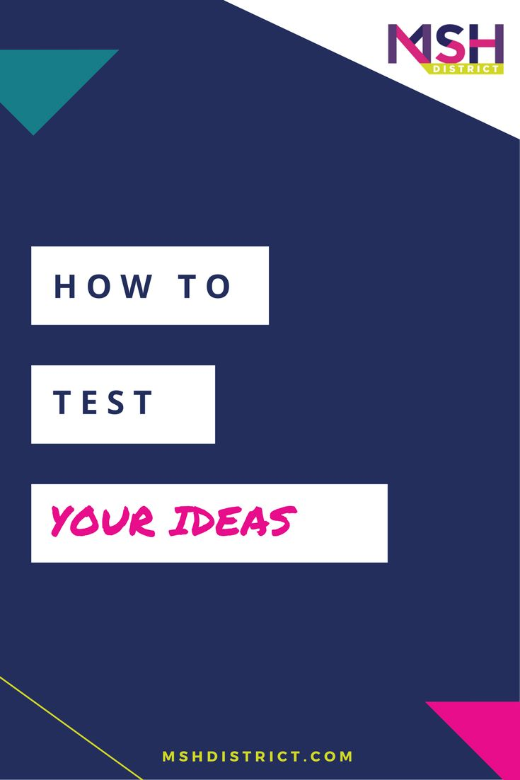 How to Test Your Ideas [+ FREE TOOLKIT] — MSH District | Fashion Startup Fund. Is it a good idea or not? At MSH we believe every idea has the potential to become something amazing - that is if you focus on solving problems and creating truly valuable solutions people can't live without. Sounds simple right - well it isn't.