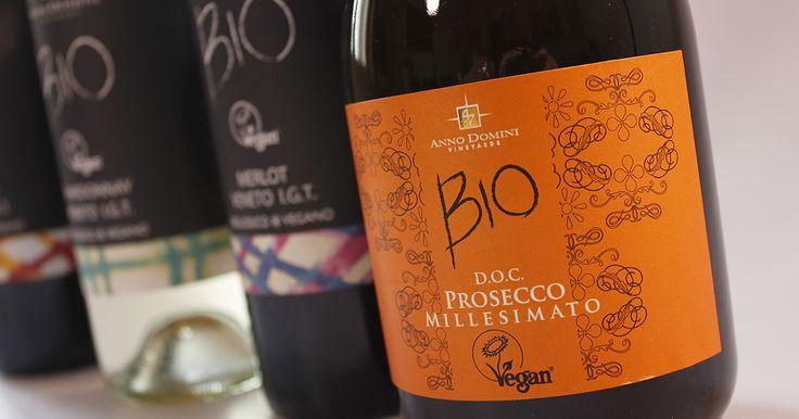 La nuovissima selezione di vini Biologici e Vegani di EATAMO: Prosecco, Cabernet, Merlot e Chardonnay!