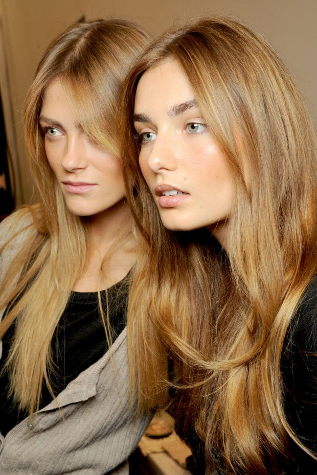 toffee and honey blondes...im thinking of going darker for fall...what do you think???