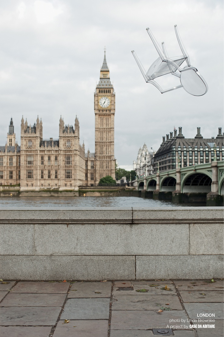 Greetings from London    Credits: Ph. by Linda Brownlee  A project by Case da Abitare