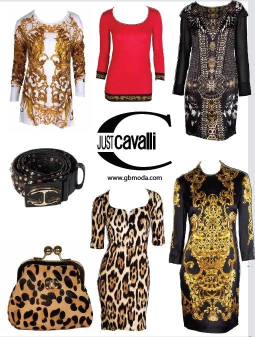 Just Cavalli in Green Bird Moda #GBModa