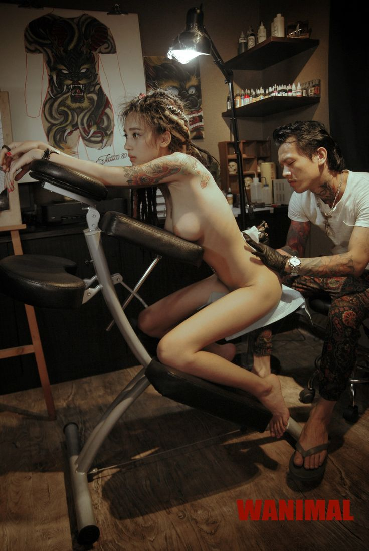 Tattooed naked girls having sex — 6