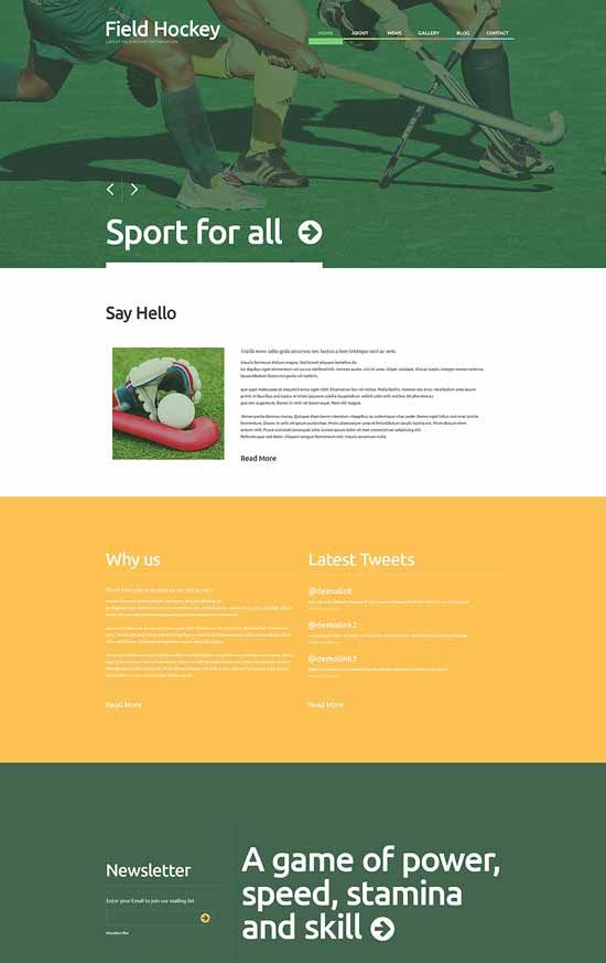 hockey-responsive-wordpress-theme
