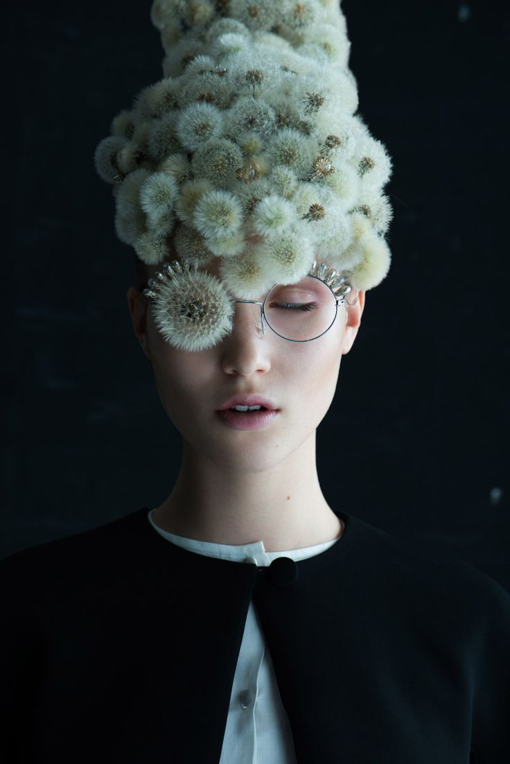 """Dandelion"" is a beautiful series of images produced by French photographer Isabelle Chapuis and botanical artist Duy Anh Nhan Duc.  ""Our first collaboration has given life to a dreamlike creation around an elusive plant: the fragile dandelion. Ephemeral compositions of thousands of flowers fuse with the skin and cover their faces with a poetic veil.""  — Isabelle Chapuis  More art on the grid"