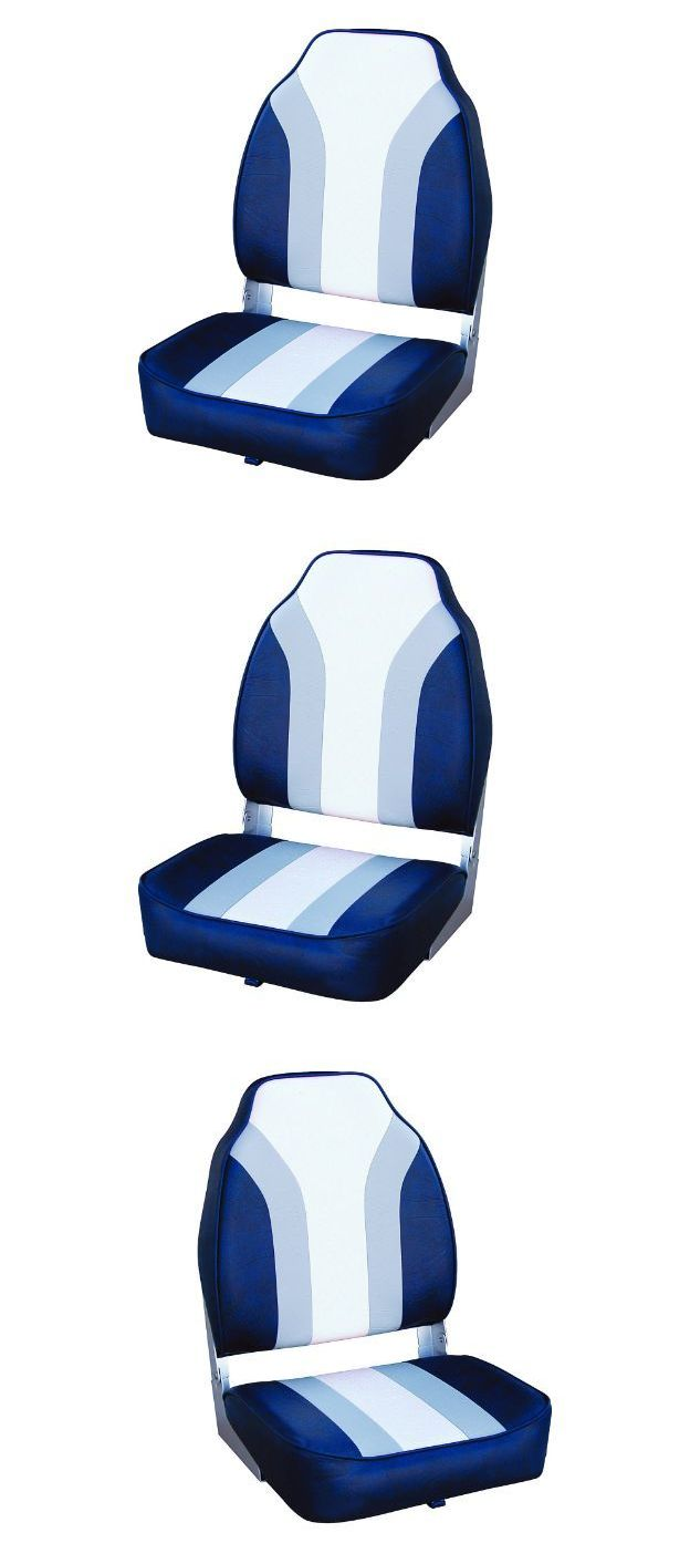 Boat captains chairs - Chairs And Seats 19985 Fishing Boat Seats High Back Pedestals Swivel Bass Pontoon Marine Padded