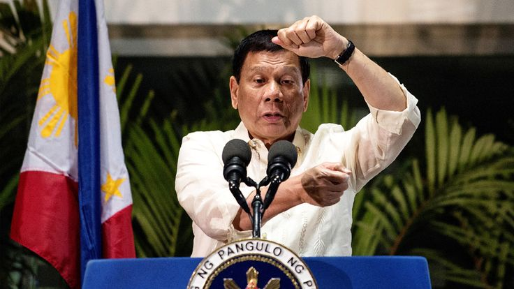 Rodrigo Duterte autoriza a la Policía a matar a los idiotas que se resistan a ser detenidos