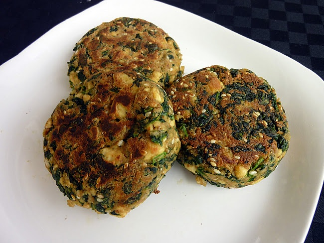 Vegan Spinach Tofu Patties | Foods to Try | Pinterest