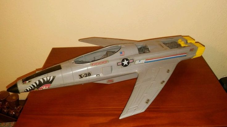 Vintage Hasbro GI Joe 1986 Conquest X-30 Fighter Army Vehicle Pawtucket RI…