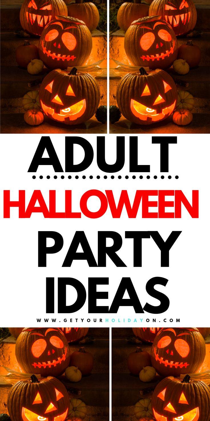 Best Halloween Party Ideas for Adults Disney halloween