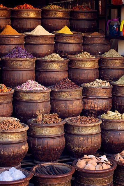 spices (Marrakech, Morocco) -Taken by { sara } -Flickr.com- on November 12, 2010 with a Canon EOS Digital Rebel XT