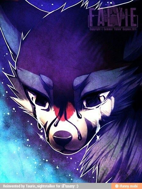 Aggressive Anime Wolves Crying Www Imagessure Com