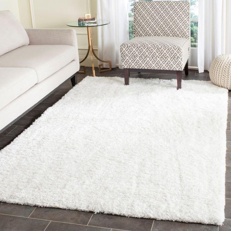 rug for living room size%0A House of Hampton Lantremange HandTufted White Area Rug Rug Size