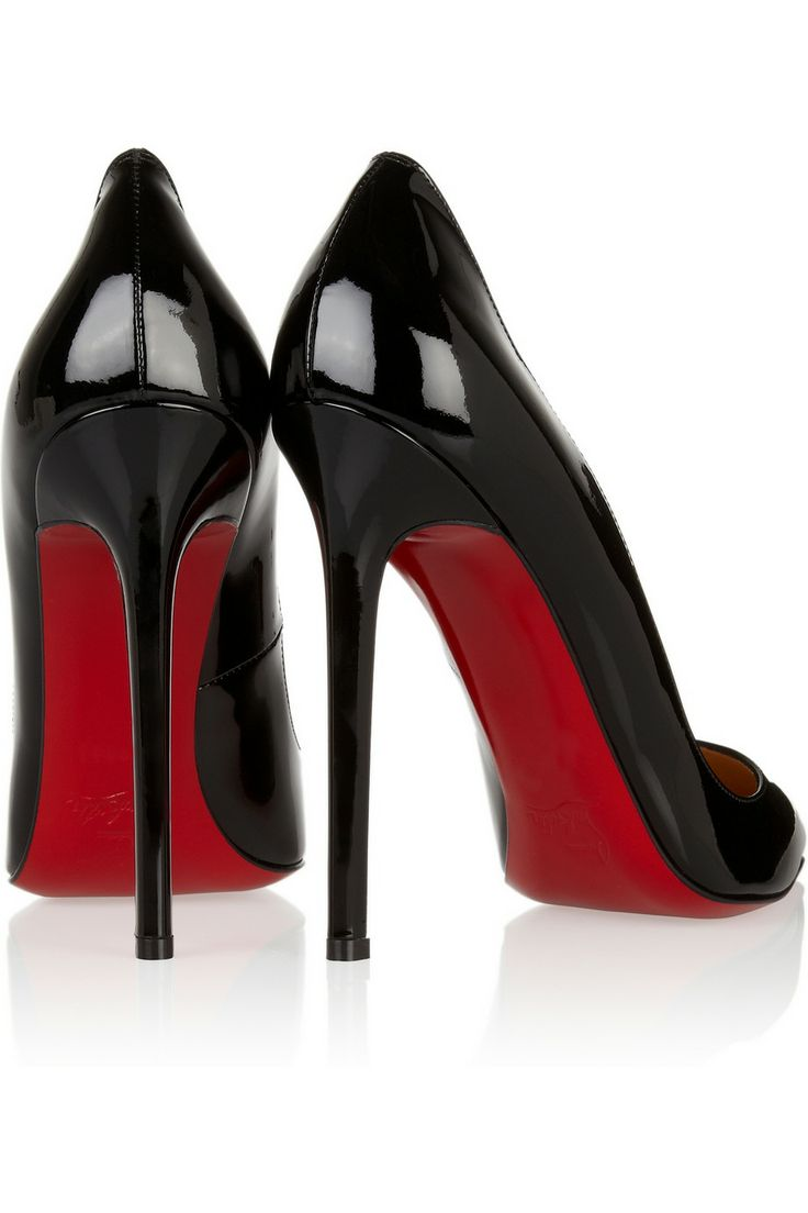 Christian Louboutin | Pigalle 120 patent-leather pumps | NET-A ...