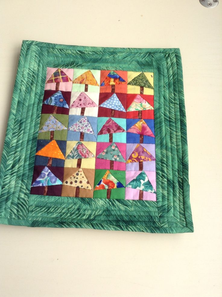 Small quilt from a workshop with Judith Dursley