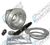 50-0402 : 1993-96 GM 4L60/4L60E 4 speed automatic transmission to the Jeep NP231 transfer case with a 23 spline input, adapter kit.