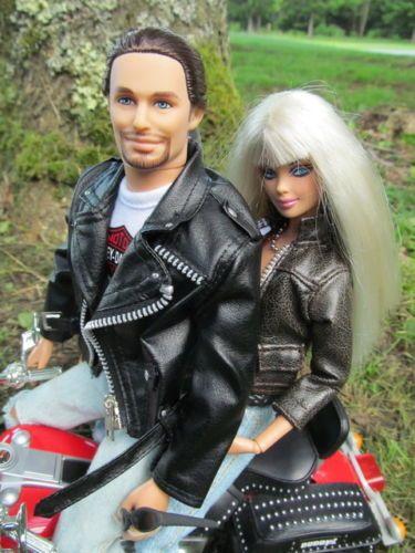 For Sale By Username BargainFancy on Ebay. Harley-Davidson-LOT-Top-Model-Muse-Deboxed-Ken-Motorcycle-Jointed- Doll-SET